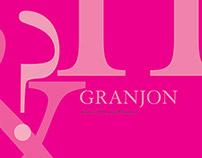 FONT STUDY: granjon