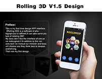 Rolling 3D V1.5-1 UI Design