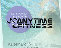 Anytime Fitness Summer Promotion Poster and DL