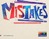 Staedtler colour pencils : MISTAKES
