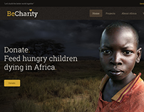BeCharity WordPress Template