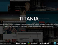 Titania - Multipurpose Joomla Template