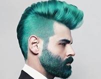 Spagetti Hairdesign - Logo & ads