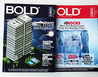 Covers Design for Bold magazine