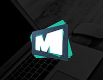 Motionpictors — Logo identity