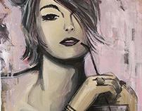 Acrilic on Canvas 50x70cm - Polo Design Show 2014