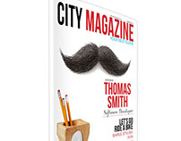 City Magazine Template
