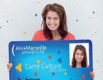 Carte Culture Aix-Marseille Université