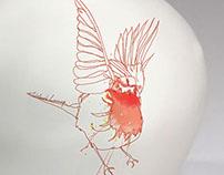 HOME - ceramic Bird 'le rouge-gorge'