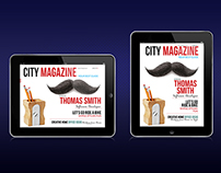 Tablet City Magazine Template