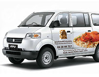 Al Noman Mandi - Vehicle Branding