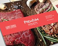 Panfleto Premium Empório da Carne