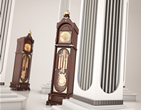 Pillars of Time. Visualisation. 3Ds Max & Vray