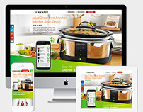 WEMO-Enabled Crock-Pot Respnsive Splash Page
