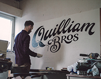 Quilliam Brothers' Sign Painting