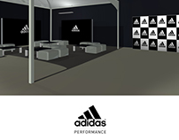 ADIDAS organization stands and spaces