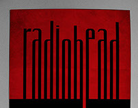 Radiohead tribute poster