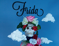Frida Kahlo : Constructed Poster