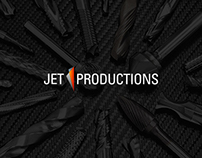 JET'PRODUCTIONS / Corporate Identity