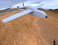 UAV (drones): 3d and animation
