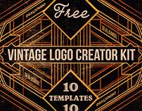 Free Vintage Logo Creator Kit