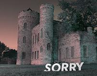 SORRY : typographic intervention
