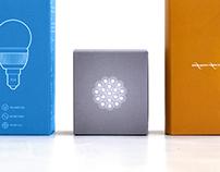 Gauss LED packaging