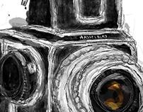 Hasselblad Retro Camera