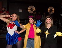 Super Heroes Unite! Dance Party