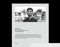 Resume / Self Promotion 2017