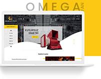 OmegaFan Web Arayüz Tasarımı