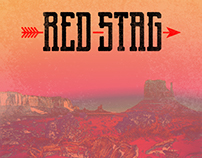 Red Stag // Rock band logo and brand
