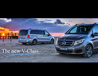 Mercedes-Benz Taiwan V-Class launching conference slide
