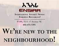 International Avenue BRZ: Ensira Ethiopian Restaurant