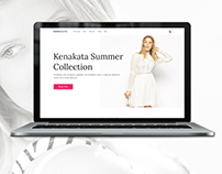 Kenakata - Free eCommerce Bootstrap Template PSD & HTML