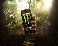 Monster Energy Drink - unleash your Zombie?!