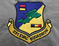 231 Evacuation Squadron (Embroidery)