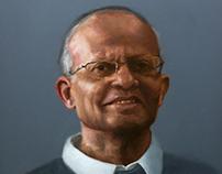 Portrait of Dr. Shah