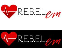 R.E.B.E.L. EM logos
