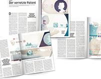 Healthcare 2.0. illustration series for change mag GER