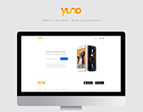 Yuno Website Designs