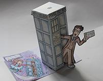 TARDIS Birthday Card