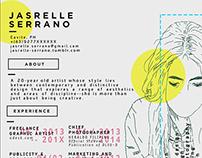 Curriculum Vitae: Jasrelle Serrano