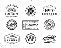 Logo/Badge Templates Vol.1