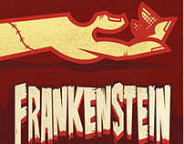 Frankenstein Play Poster Design Entry