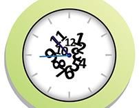Centripetal Clock