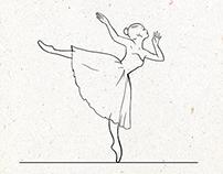 Balerine animation