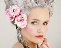 Marie Antoinette.Hair by Eskimo
