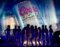 Coors Light Cold Party - Monitor Loop