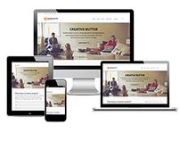 Creative Butter: Responsive Website
